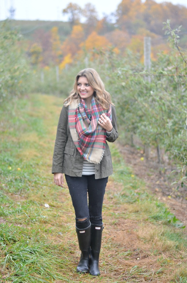the perfect apple picking outfit via fizzandfrosting.com