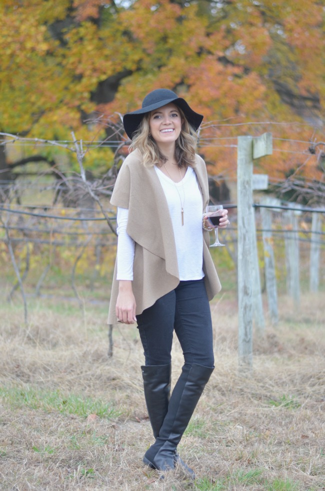 winery outfit for fall via fizzandfrosting.com