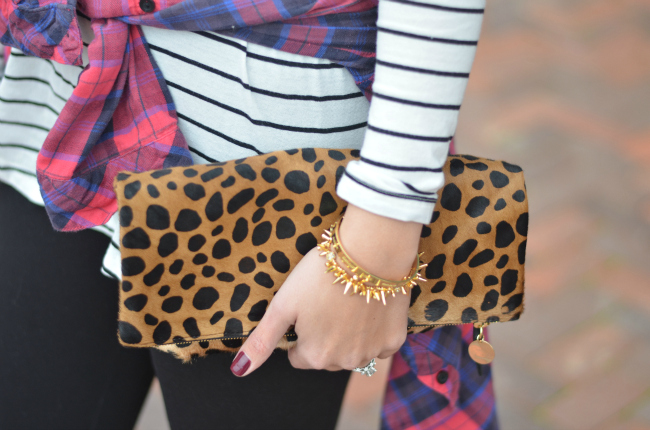 mixing prints for winter via fizzandfrosting.com