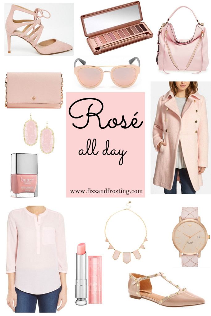 cute rose quartz clothes and accessories via fizzandfrosting.com