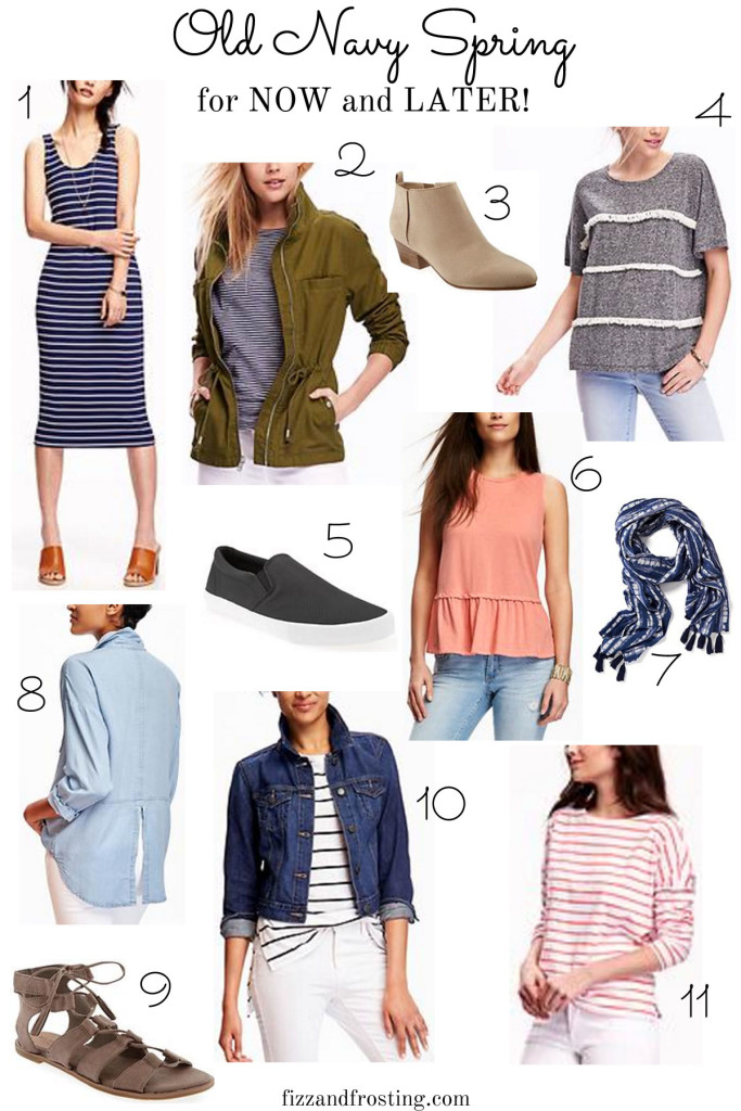 Old Navy Spring finds and how to wear them now and later | fizzandfrosting.com