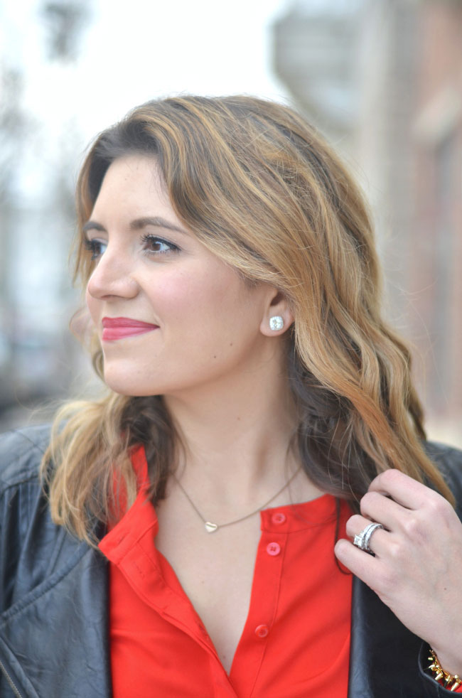jewelry television vanna k studs, stella & dot heart necklace via fizzandfrosting.com