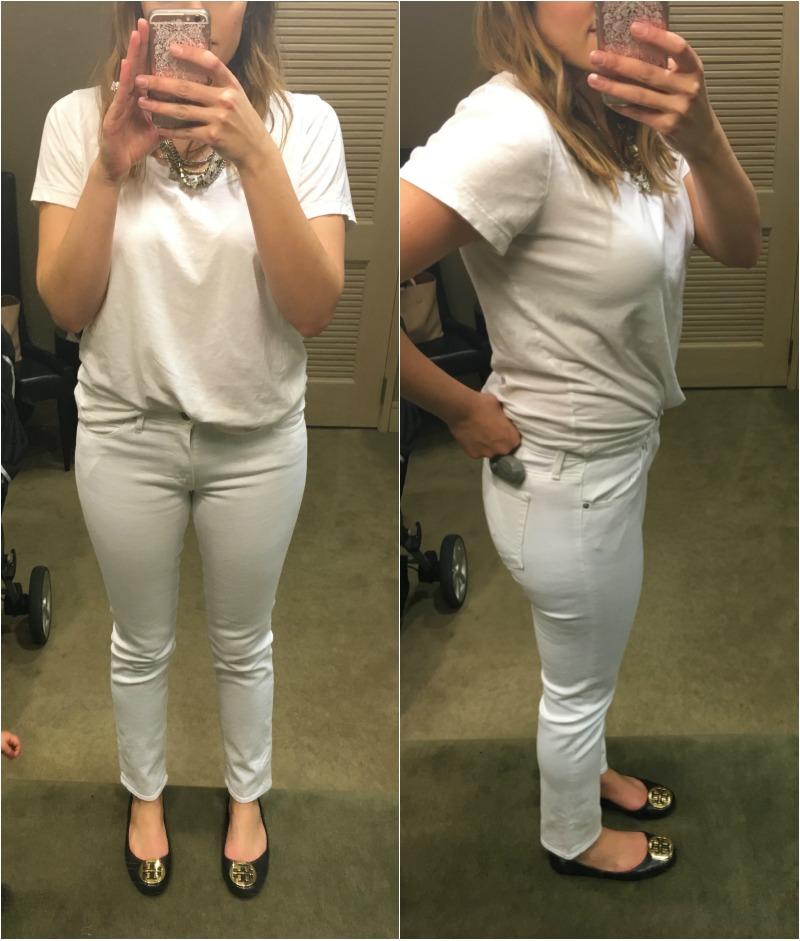 white jeans reviews - AG prima   www.fizzandfrosting.com