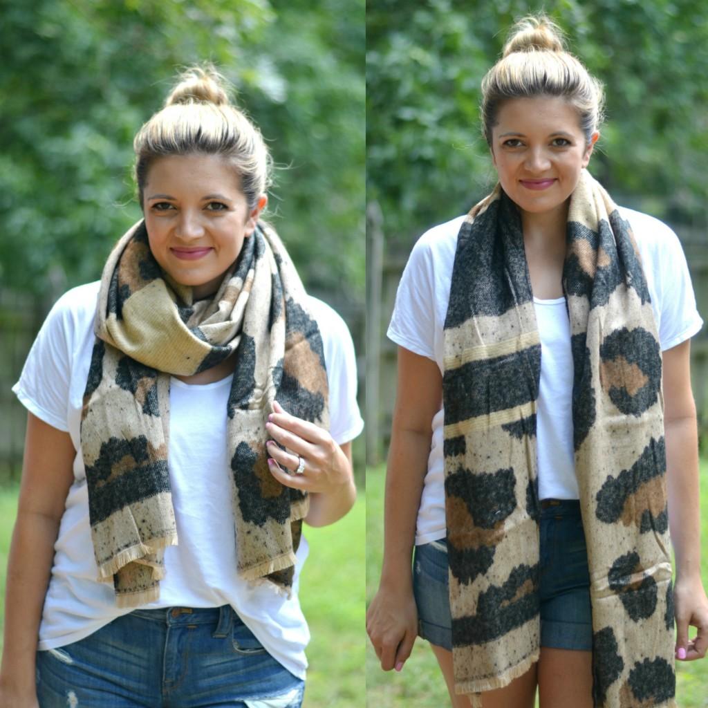 leopard print scarf | www.fizzandfrosting.com