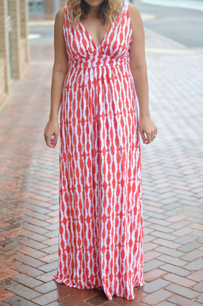 ikat maxi dress   www.fizzandfrosting.com