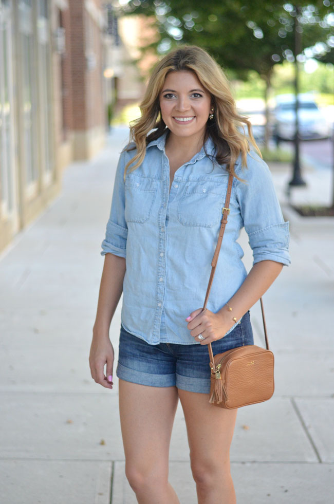 denim on denim for summer | www.fizzandfrosting.com