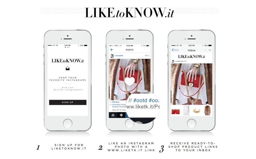 How to use liketoknow.it | www.fizzandfrosting.com