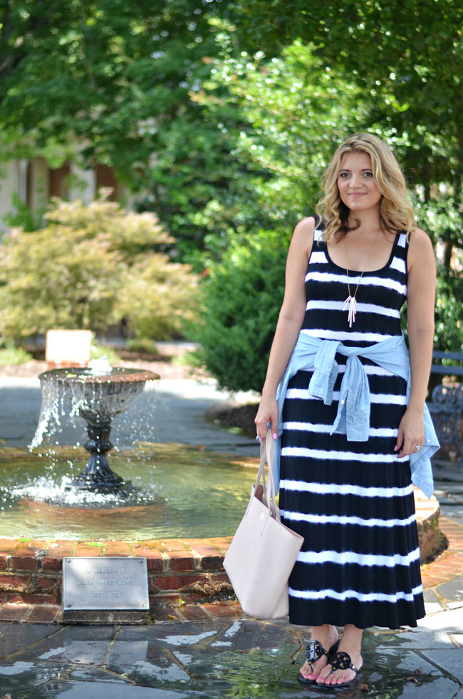 striped-tank-maxi-dress-with-chambray-top