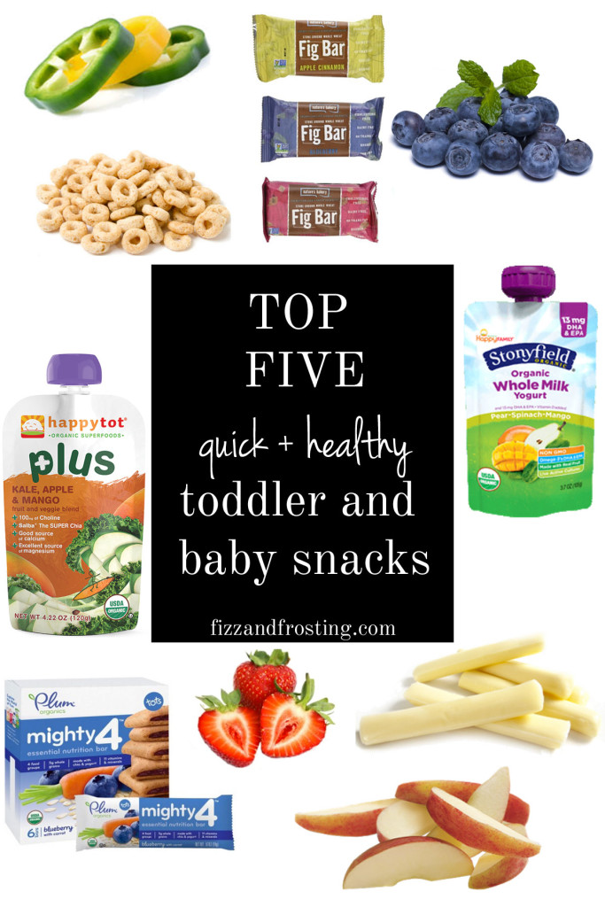 top five toddler and baby snacks | www.fizzandfrosting.com