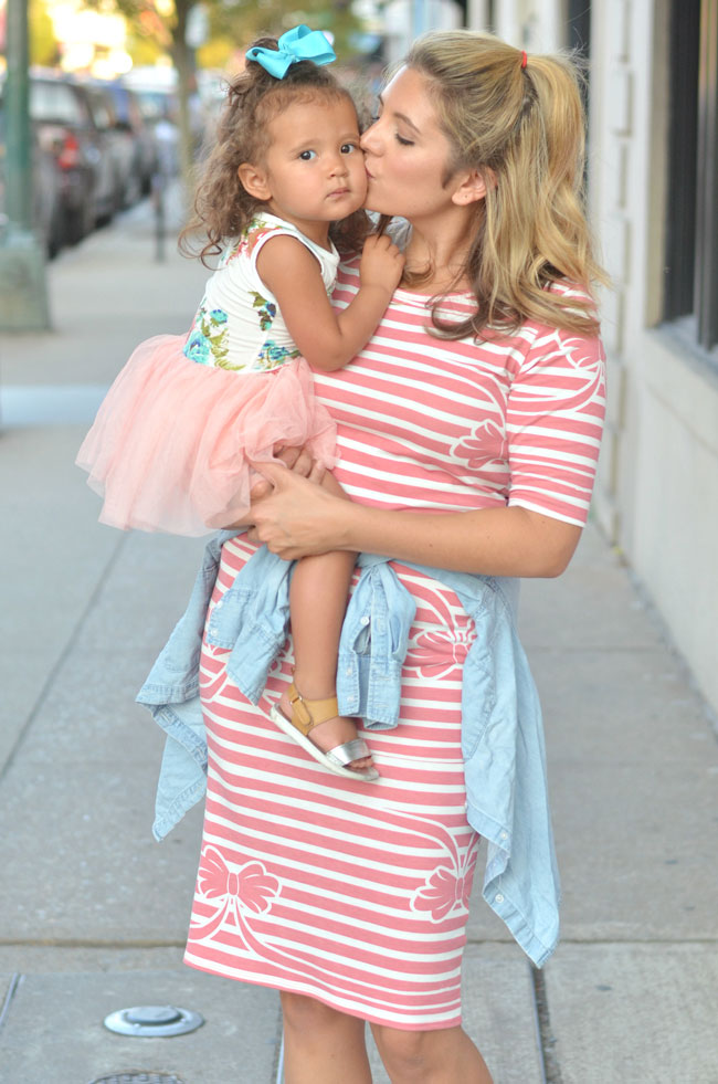 mommy and daughter toddler style