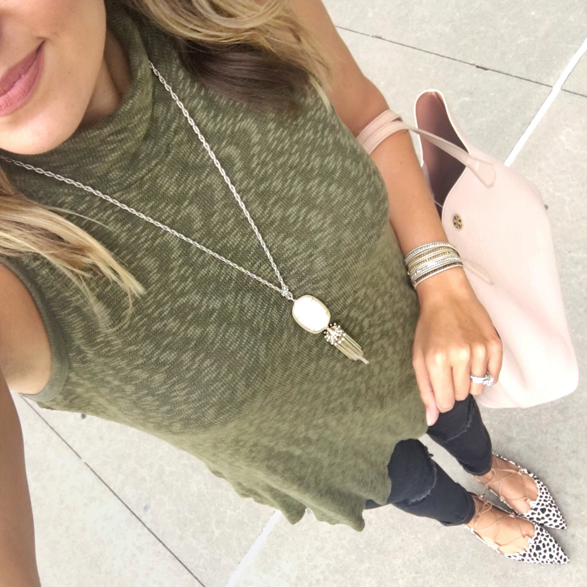how wear turtleneck tunic - Fizz and Frosting Instagram style