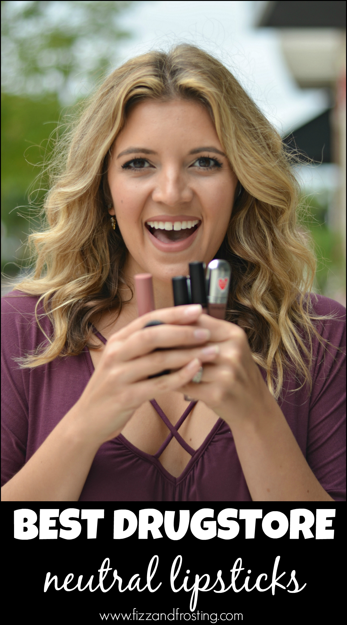 best nude drugstore lipsticks | www.fizzandfrosting.com